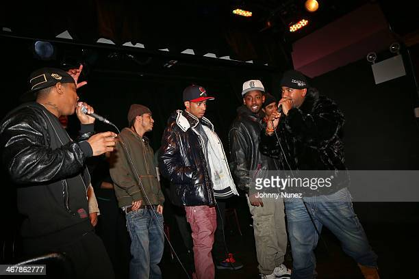 Ja Rule and NORE attend Take It Personal Featuring NORE A Big Pun Tribute at USB Headquarters on February 7 2014 in New York City