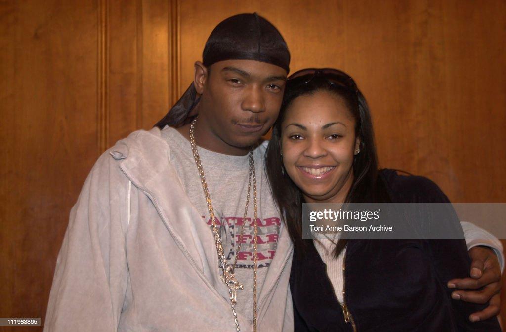 World Music Awards 2002 - Ja Rule & Ashanti Press Conference : News Photo