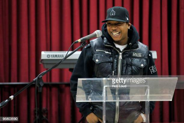 Ja Rule attends a press conference announcing the 1st annual Peace Week at Occasions Banquet Hall on January 15 2010 in Springfield Gardens New York
