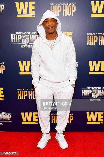 Ja Rule attends as WEtv celebrates the premieres of Growing Up Hip Hop New York and Untold Stories of Hip Hop on August 19 2019 in New York City