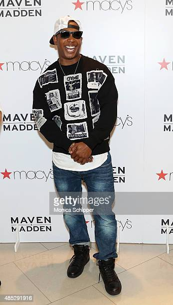 Ja Rule attends Ja Rule Steve Madden Release Maven x Madden Men's Collection At Macy's Herald Square at Macy's Herald Square on August 26 2015 in New...