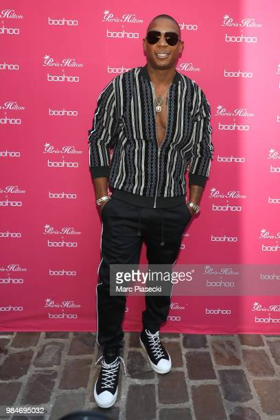 Ja Rule attends Paris Hilton x Boohoo Party at Hotel Le Marois on June 26 2018 in Paris France