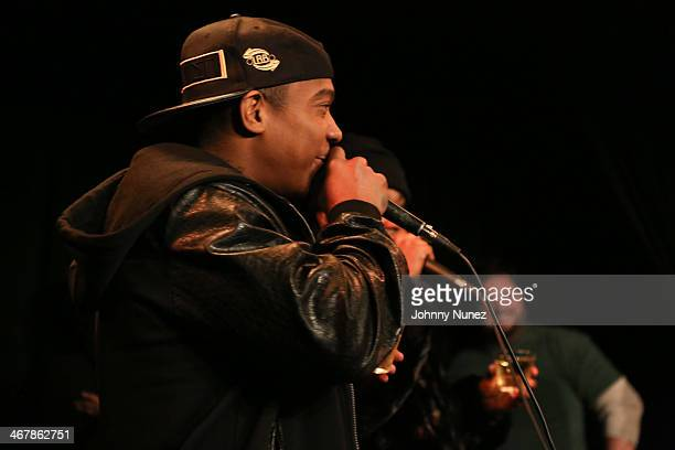 Ja Rule attends Take It Personal Featuring NORE A Big Pun Tribute at USB Headquarters on February 7 2014 in New York City