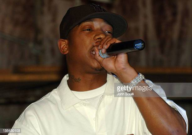 Ja Rule during Ja Rule Performs an Impromptu Set at Shelter Nightclub July 17 2005 at Shelter in Los Angeles California United States