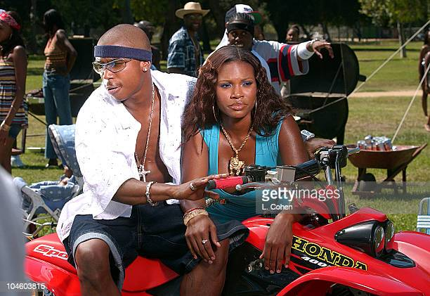 Ja Rule during Ja Rule Video Shoot at North Hollywood Park in North Hollywood California United States