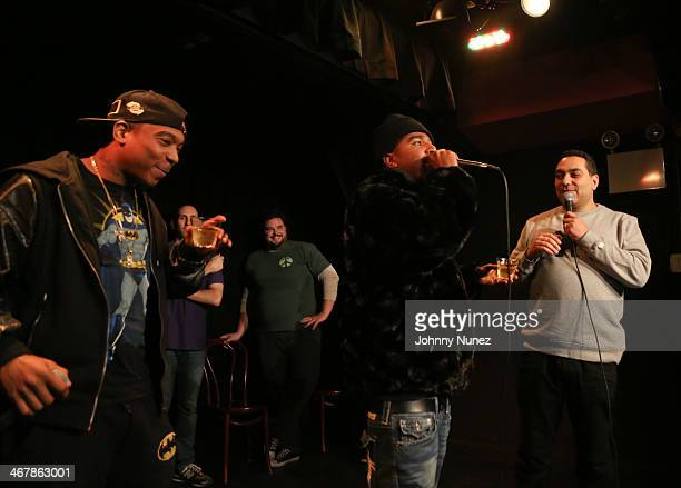Ja Rule NORE and Cipha Sounds attend Take It Personal Featuring NORE A Big Pun Tribute at USB Headquarters on February 7 2014 in New York City