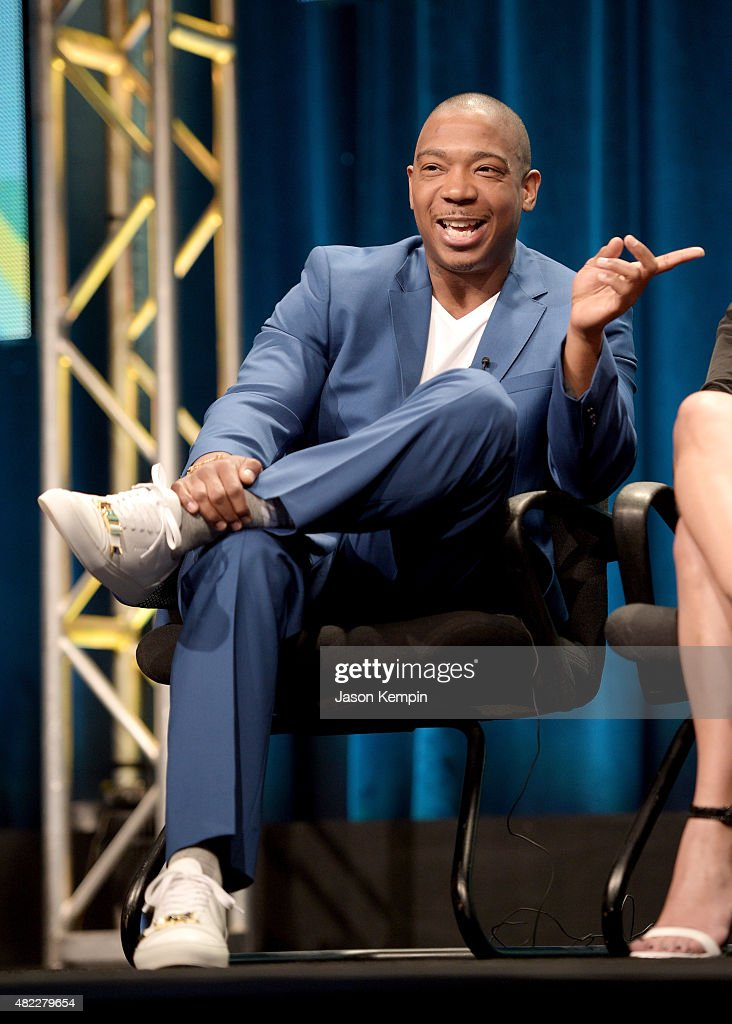 Ja Rule speaks onstage during the 'Follow The Rules' panel at the Viacom TCA Presentation at The Beverly Hilton Hotel on July 29, 2015 in Beverly Hills, California.