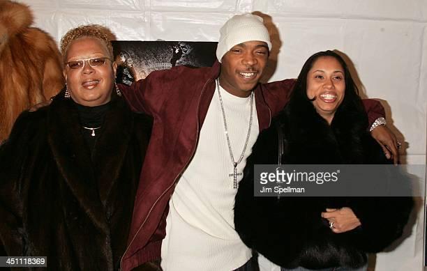 Ja Rule wife Aisha Atkins and mother Deborah Atkins