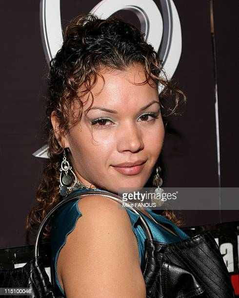 Ja Rules Record Release Party in Hollywood United States on November 10 2004 Jessica Lugo at the party at Cinespace