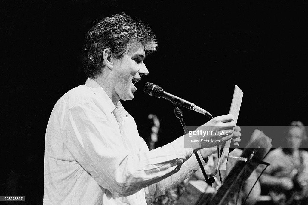 Jaap Blonk 1994 : News Photo