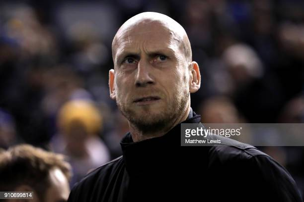 Jaap Stam Manager of Reading during The Emirates FA Cup Fourth Round match between Sheffield Wednesday and Reading on January 26 2018 in Sheffield...
