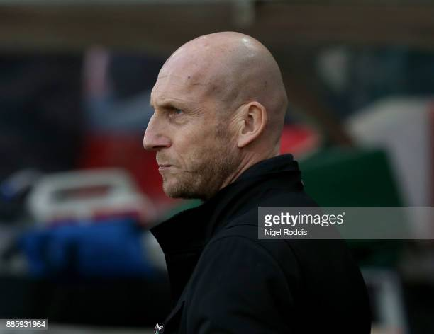 Jaap Stam manager of Reading during the Sky Bet Championship match between Sunderland and Reading at Stadium of Light on December 2 2017 in...