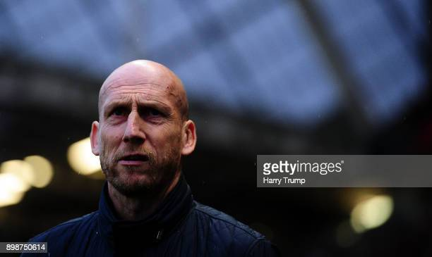 Jaap Stam Manager of Reading during the Sky Bet Championship match between Bristol City and Reading at Ashton Gate on December 26 2017 in Bristol...