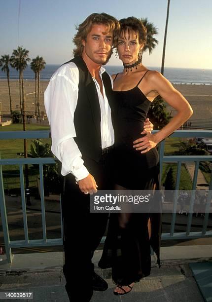 Jaason Simmons and Alexandra Paul at the The American Red Cross of Santa Monica Spirit Award Honoring the Cast of 'Baywatch' Loews Santa Monica Beach...
