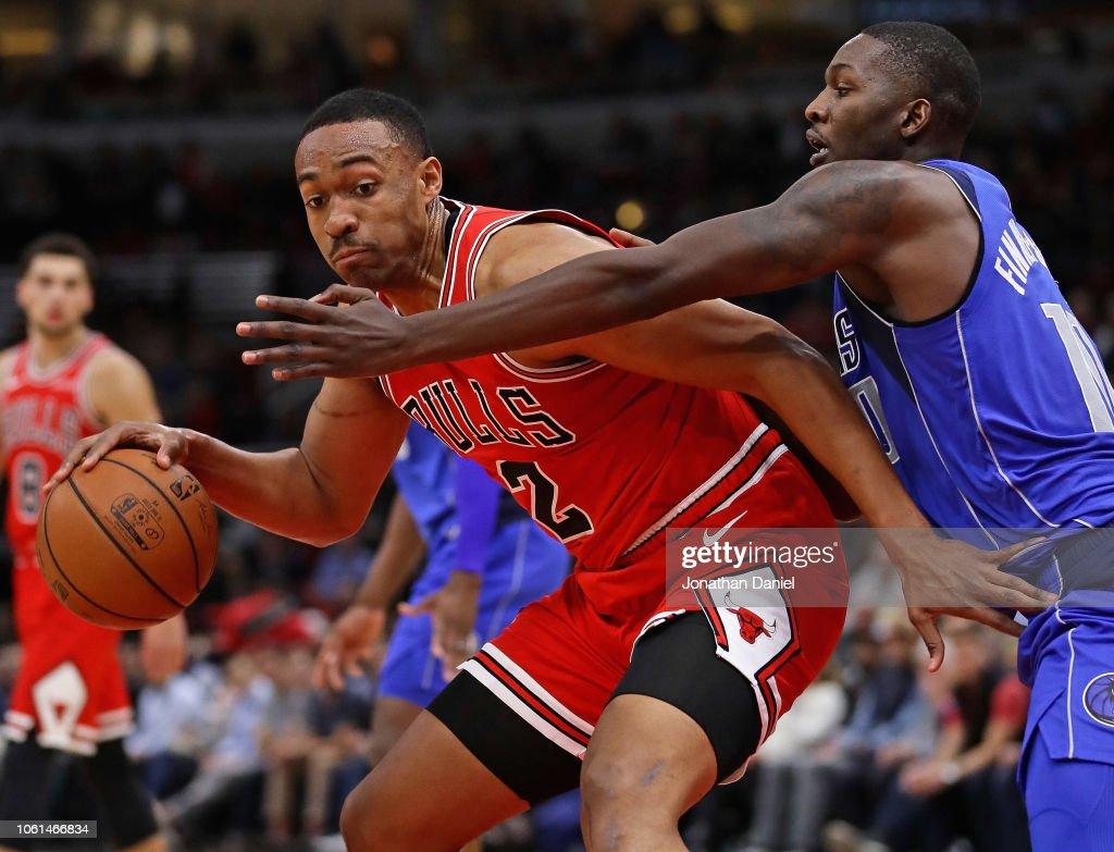 Jabari Parker of the Chicago Bulls moves against Dorian