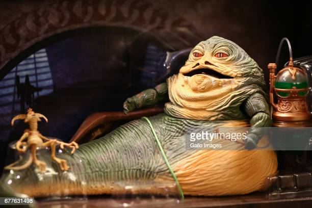 Jabba seen during the STAR WARS Day on May 01 2017 at Nowy Fort in Warsaw Poland The event for famous science fiction movie series enthusiasts was...