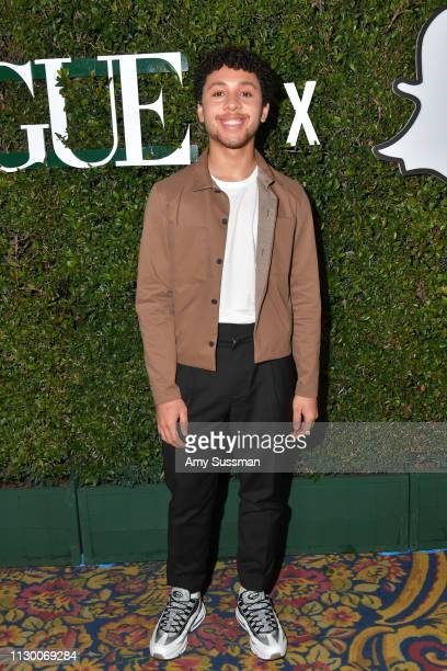 Jaboukie YoungWhite attends Teen Vogue's 2019 Young Hollywood Party Presented By Snap at Los Angeles Theatre on February 15 2019 in Los Angeles...