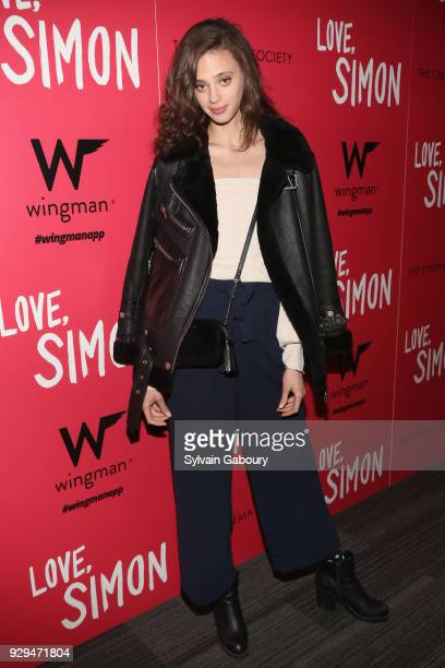 Jac Summers attends 20th Century Fox Wingman host a screening of 'Love Simon' on March 8 2018 in New York City