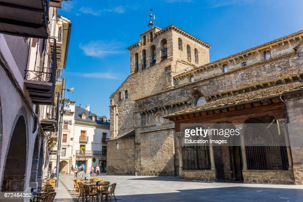 Jaca Huesca Province Aragon Spain Romanesque Catedral de San Pedro ApÑstol Cathedral of St Peter the Apostle The building which was constructed...