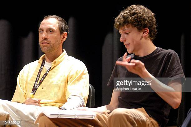Jace Alexander and Jessie Eisenberg during Nantucket Film Festival 8 A Staged Reading of A Confederacy of Dunces at Nantucket High School Auditorium...