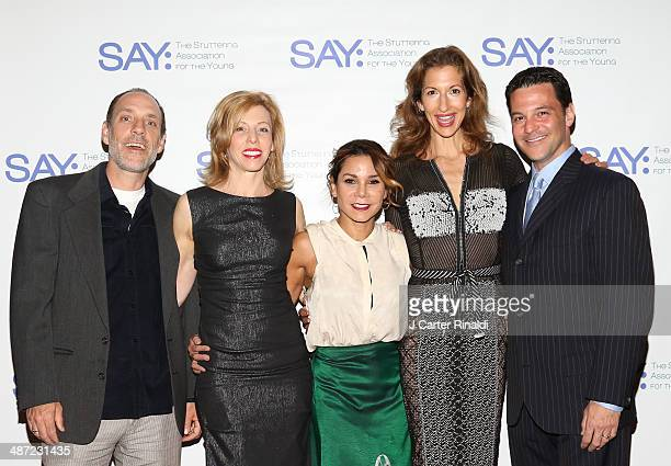 Jace Alexander Maddie Corman Daphne RubinVega Alysia Reiner and David Allen Bosche attend the 12th annual SAY Benefit at Jack H Skirball Center for...