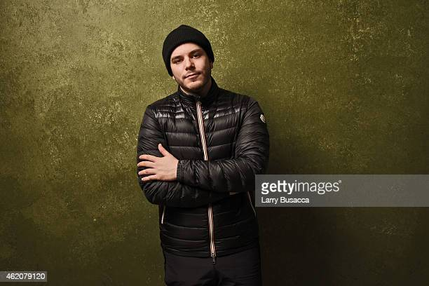 Jace Lipstein designer of Grungy Gentleman poses for a portrait at the Village at the Lift Presented by McDonald's McCafe during the 2015 Sundance...