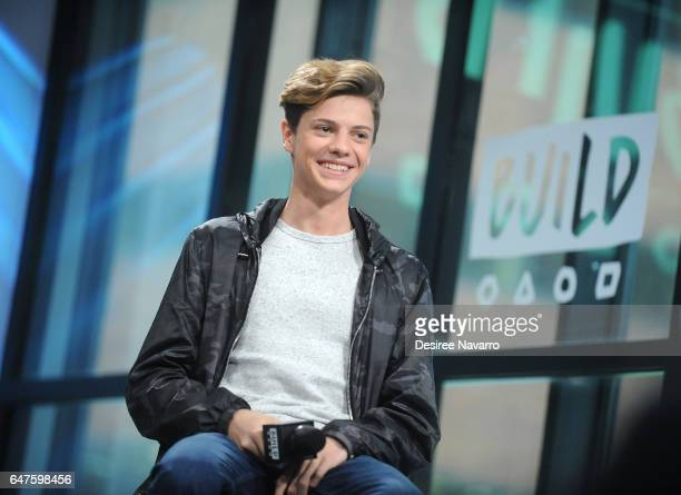 Jace Norman attends Build Series to discuss 'Henry Danger' at Build Studio on March 3 2017 in New York City