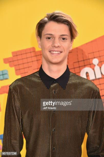 Jace Norman attends Nickelodeon's 2018 Kids' Choice Awards at The Forum on March 24 2018 in Inglewood California