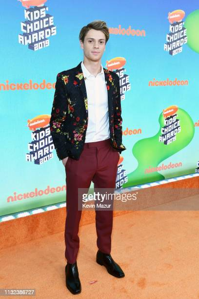 Jace Norman attends Nickelodeon's 2019 Kids' Choice Awards at Galen Center on March 23 2019 in Los Angeles California