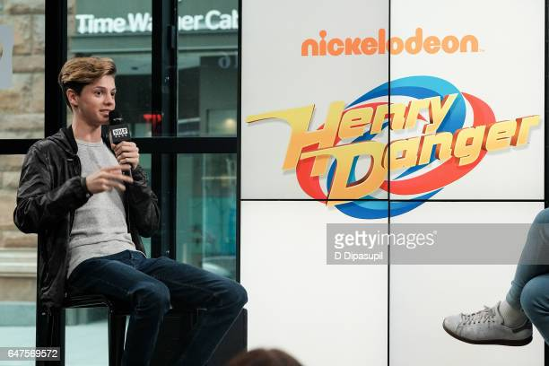 Jace Norman attends the Build Series to discuss Henry Danger at Build Studio on March 3 2017 in New York City