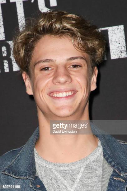 Jace Norman attends the Knott's Scary Farm and Instagram's Celebrity Night at Knott's Berry Farm on September 29 2017 in Buena Park California