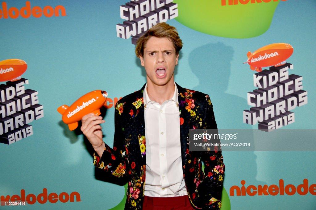 Nickelodeon's 2019 Kids' Choice Awards - Backstage : News Photo