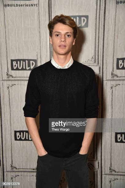 Jace Norman visits Build Studio on January 11 2018 in New York City