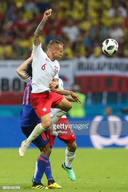 Jacek Goralski of Poland during the Russia 2018 World Cup Group H football match between Poland and Colombia at the Kazan Arena in Kazan on June 24...