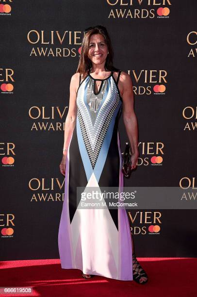 Jacey Salles attends The Olivier Awards 2017 at Royal Albert Hall on April 9 2017 in London England