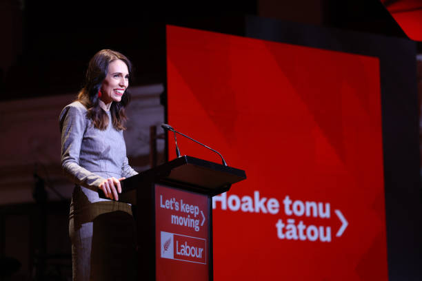 NZL: New Zealand Prime Minister Jacinda Ardern Launches Labour Party Election Campaign
