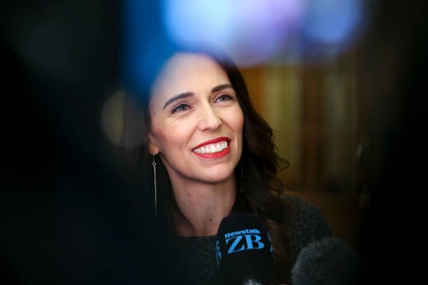 NZL: New Zealand MPs Attend Parliament For Party Meetings Following 2020 General Election