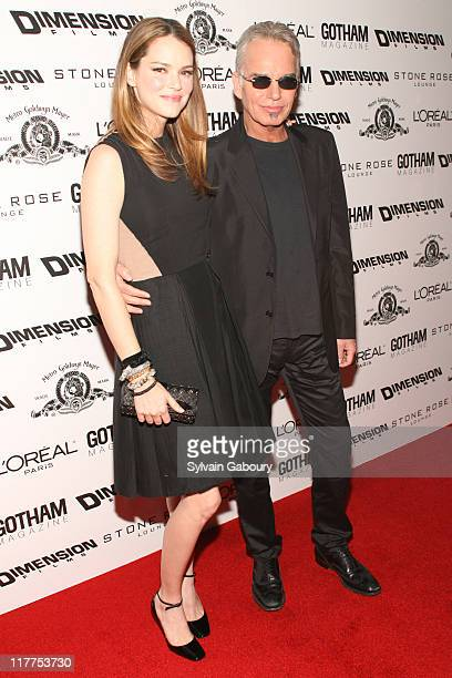 """Jacinda Barrett and Billy Bob Thornton during """"School For Scoundrels"""" New York Premiere at AMC Loews Lincoln Square in New York City, New York,..."""