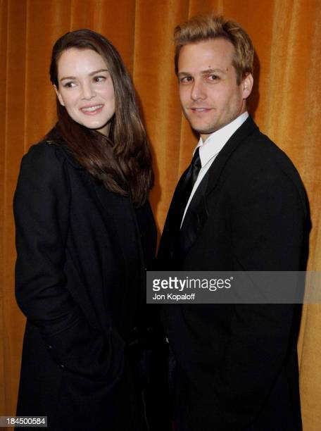 Jacinda Barrett and Gabriel Macht during The Weinstein Company/Glamour 2006 Golden Globes After Party at Trader Vic's in Beverly Hilton Hotel...