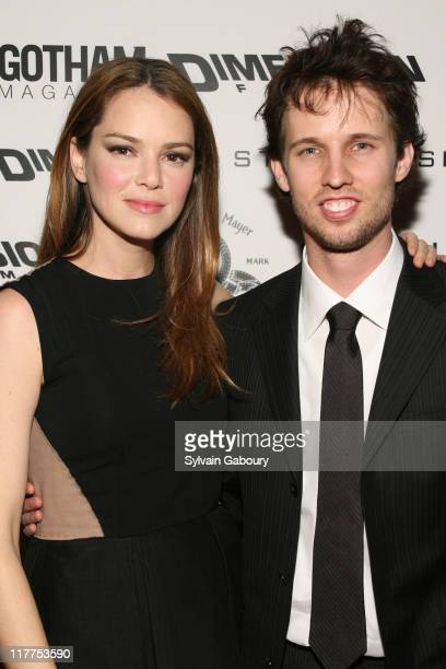 """Jacinda Barrett and Jon Heder during """"School For Scoundrels"""" New York Premiere at AMC Loews Lincoln Square in New York City, New York, United States."""