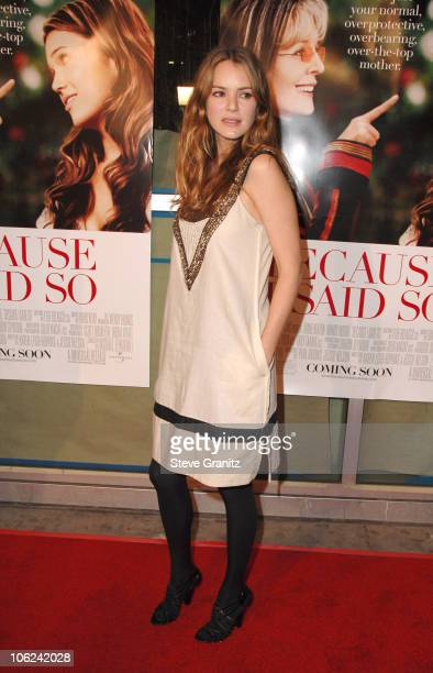 "Jacinda Barrett during ""Because I Said So"" Los Angeles Premiere - Arrivals at Arclight Theater in Los Angeles, California, United States."