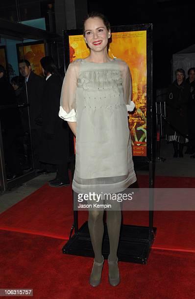 "Jacinda Barrett during ""Namesake"" New York City Premiere - March 6, 2007 at Chelsea West Cinemas in New York City, New York, United States."