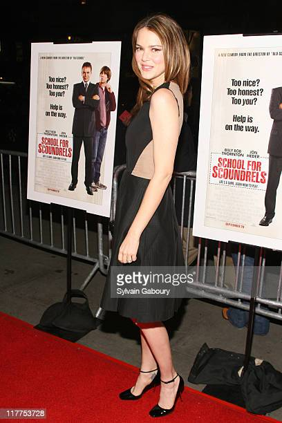 """Jacinda Barrett during """"School For Scoundrels"""" New York Premiere at AMC Loews Lincoln Square in New York City, New York, United States."""