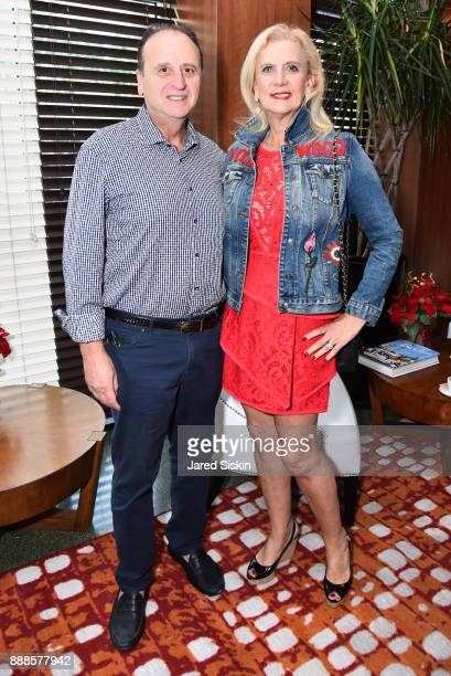 Jack Acoco and Ruth Miller attend Jean Shafiroff with Hotel Croydon Hosts The Power of Art to Heal at Hotel Croydon on December 8 2017 in Miami Beach...