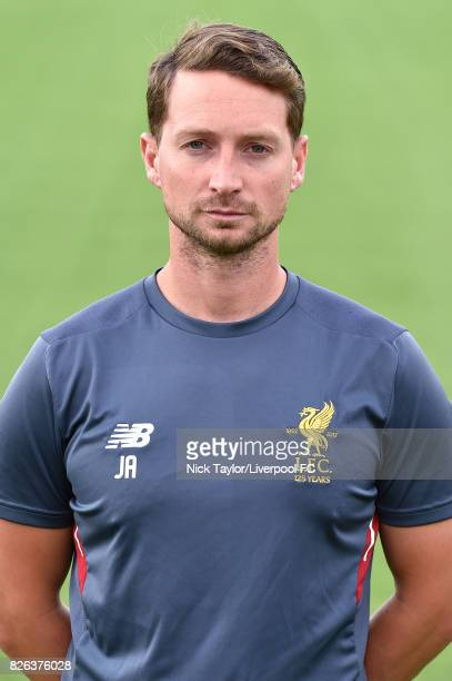 Jack Ade of Liverpool poses at The Kirkby Academy on August 4 2017 in Kirkby England