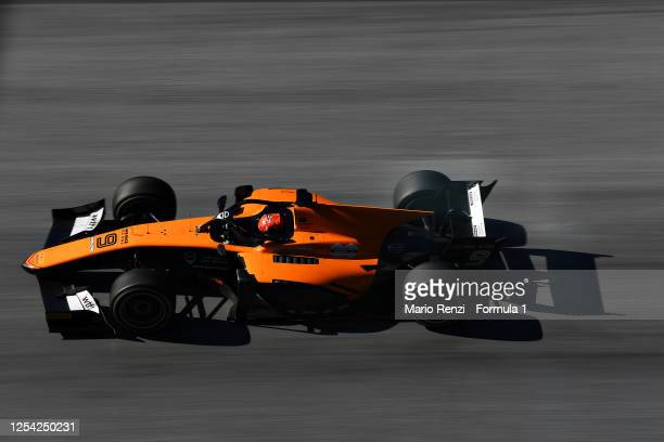 Jack Aitken of Great Britain and Campos Racing drives during the feature race for the Formula 2 Championship at Red Bull Ring on July 04, 2020 in...