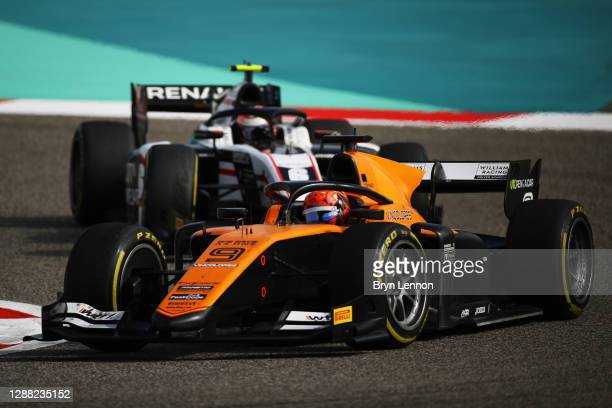 Jack Aitken of Great Britain and Campos Racing drives during the Round 11:Sakhir Feature Race of the Formula 2 Championship at Bahrain International...