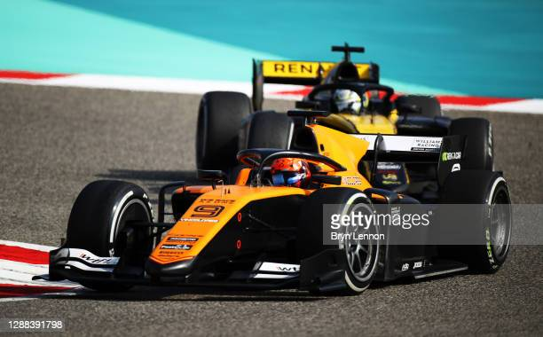 Jack Aitken of Great Britain and Campos Racing drives during the Round 11:Sakhir Sprint Race of the Formula 2 Championship at Bahrain International...