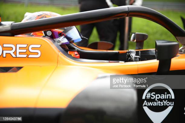 Jack Aitken of Great Britain and Campos Racing during practice for the Formula 2 Championship at Red Bull Ring on July 03, 2020 in Spielberg, Austria.