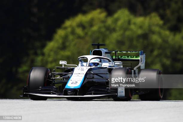 Jack Aitken of Great Britain driving the Williams Racing FW43 Mercedes on track during practice for the F1 Grand Prix of Styria at Red Bull Ring on...